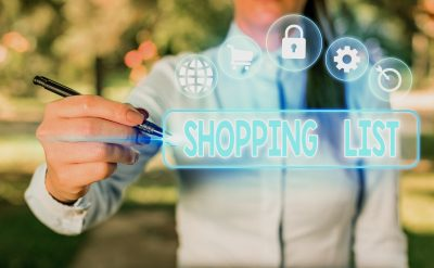 digital shopping list
